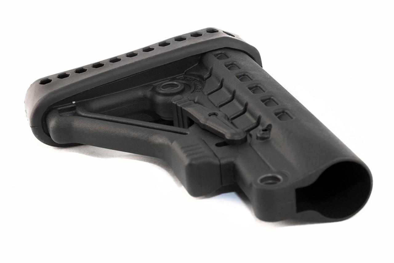 Archangel® Heavy Duty AR-15® / AR-10 Buttstock (Commercial Tube) - Black Polymer