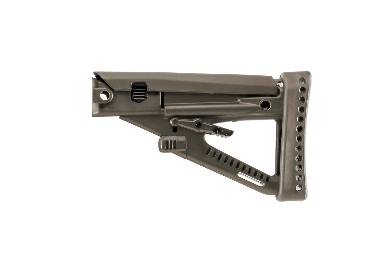 Archangel® OPFOR® AK-series (4) Position Adjustable Buttstock -  Olive Drab Polymer