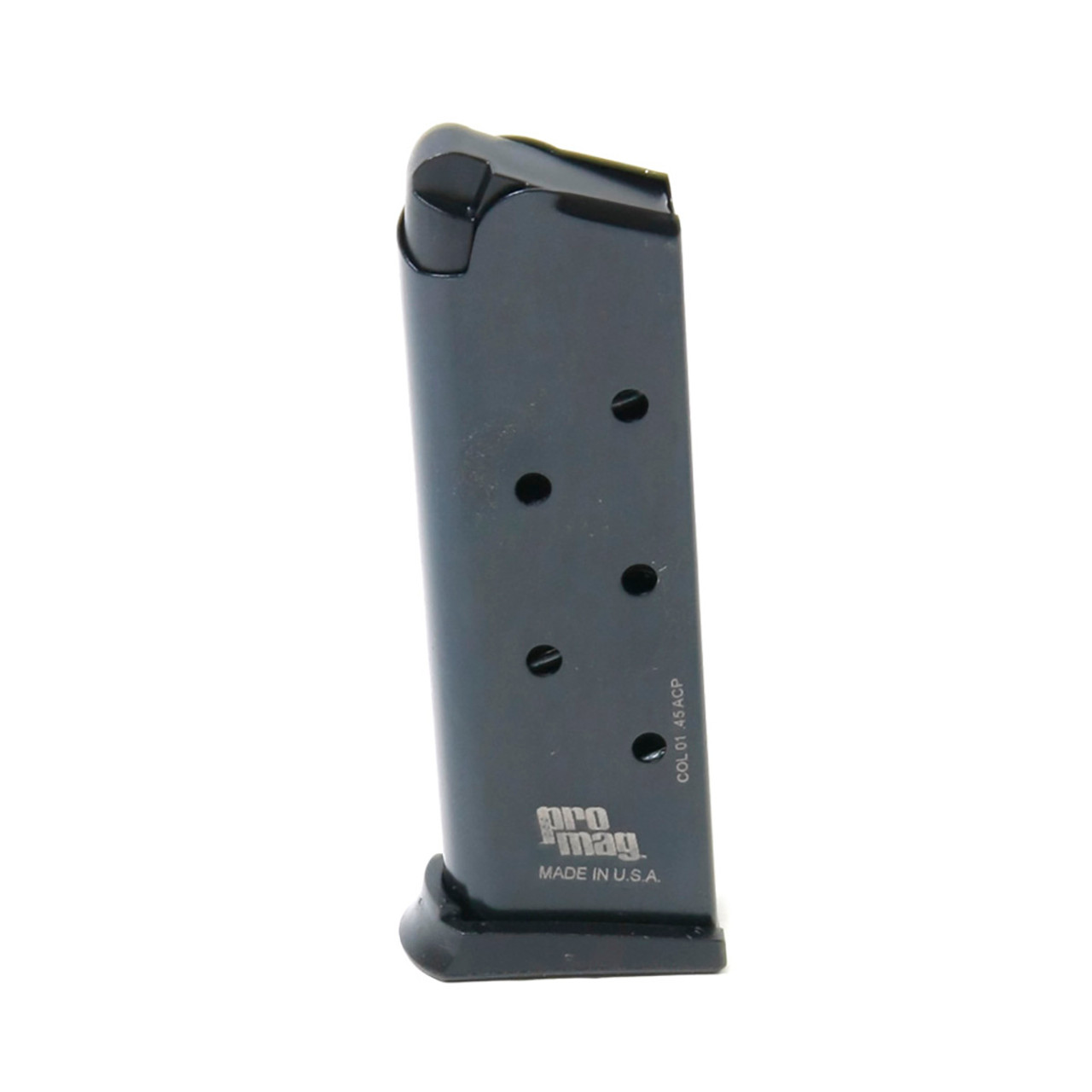 Colt® 1911 Officers Model .45 ACP (6) Rd -  Blue Steel