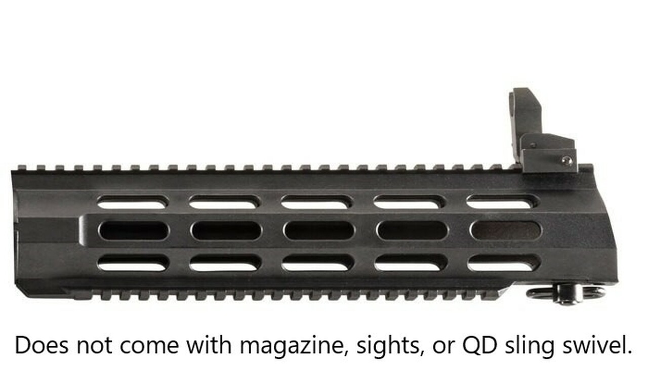 Archangel® 556 AR-15® Style Conversion Stock for the Ruger® 10/22® with Extended Length Monolithic Rail Forend - Black Polymer