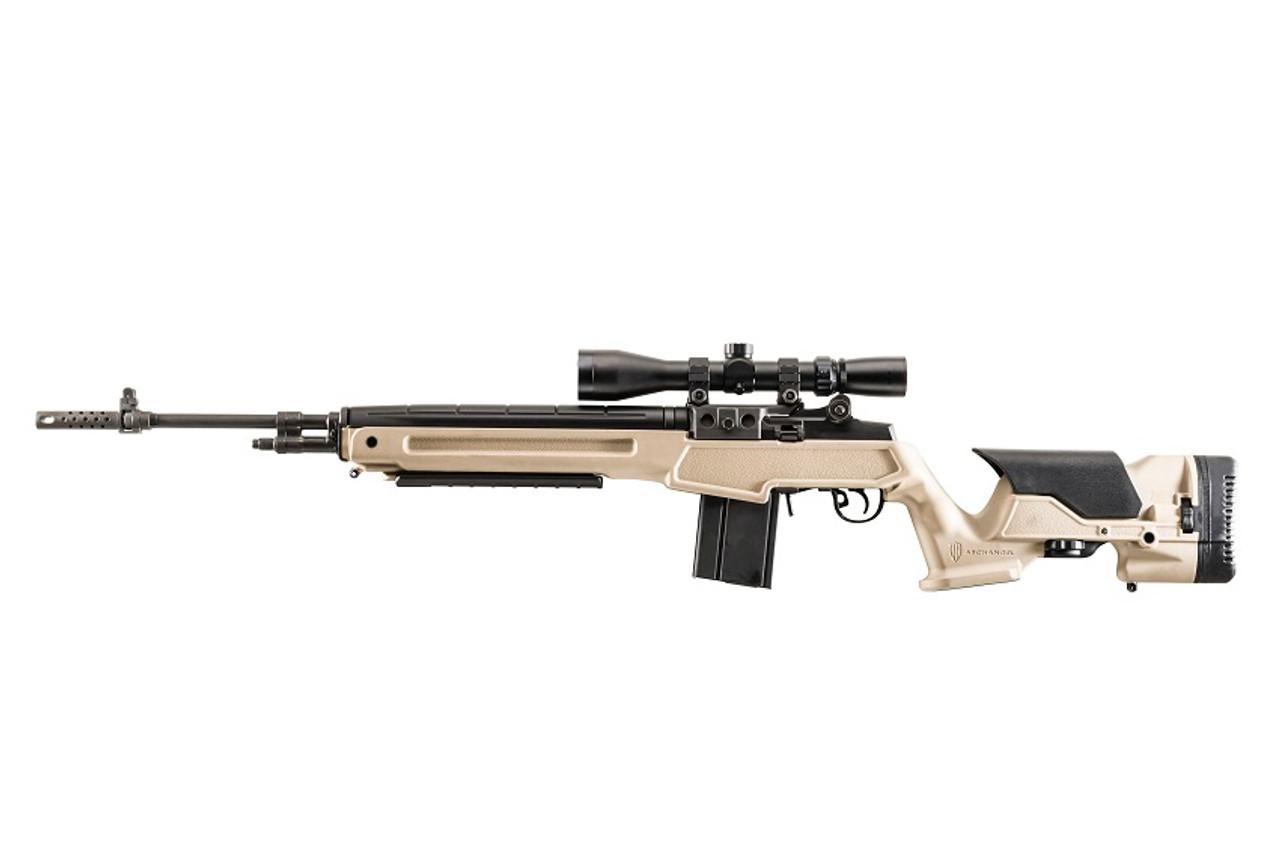 Archangel® Springfield Armory® M1A™ Precision Stock - Desert Tan Polymer
