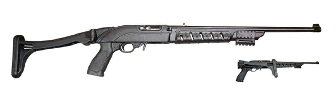 Ruger® 10/22® Tactical Folding Stock - Black Polymer