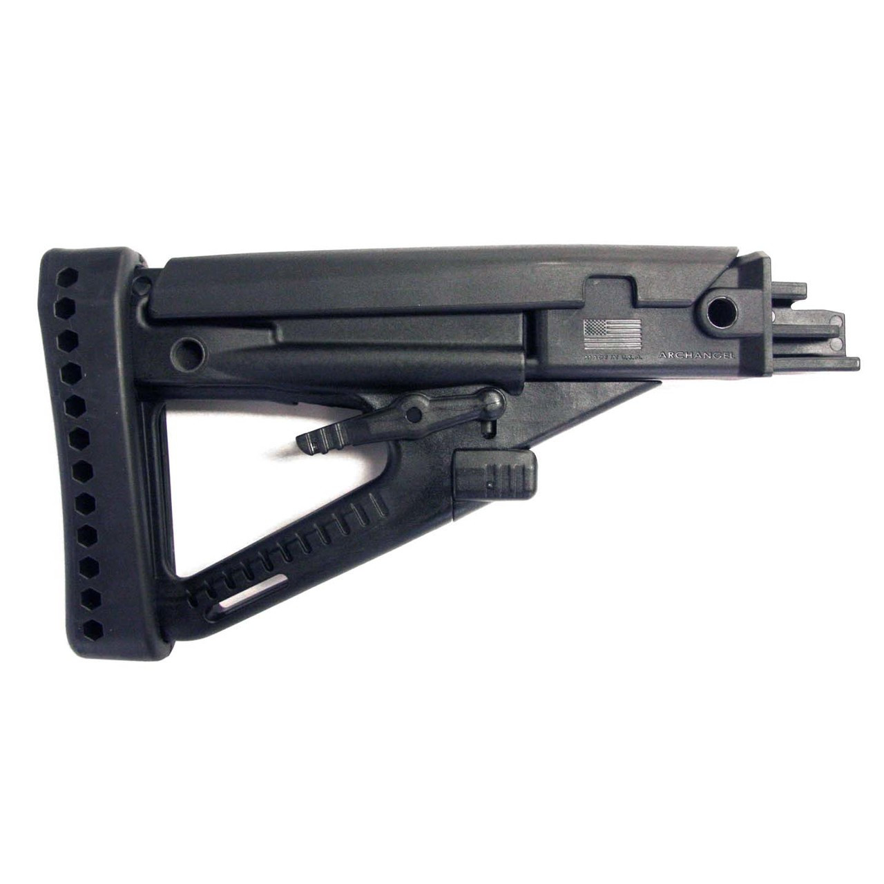 Archangel® OPFOR® AK-series (4) Position Adjustable Buttstock - Black Polymer