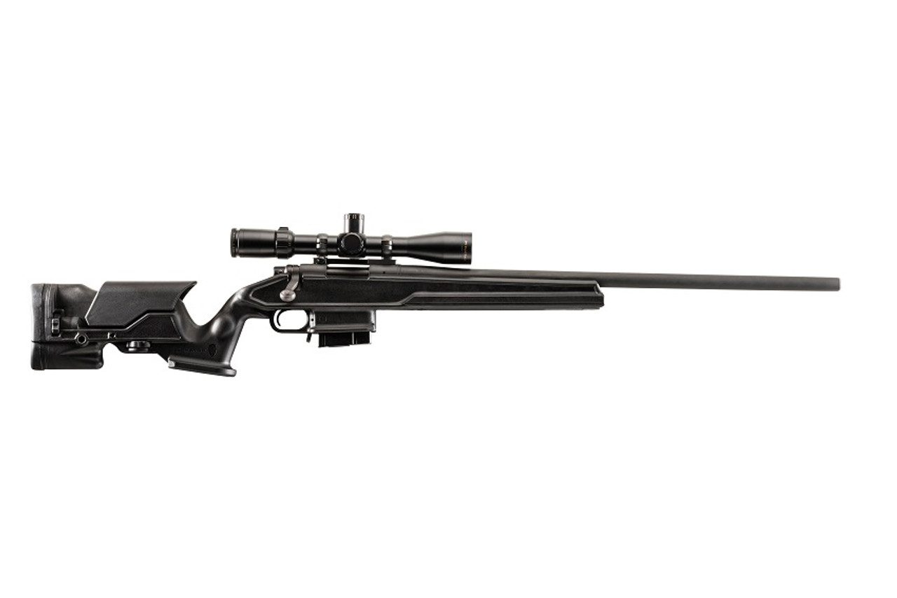Archangel® 700 Precision Stock for the Remington® Model 700® with Aluminum Bed Block - Black Polymer includes AA308 01 (10) Rd TYPE A Magazine