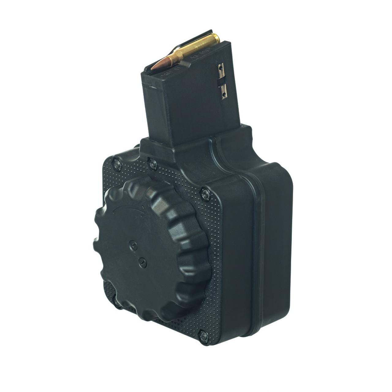 AR-308 .308 (50) Rd - Black Polymer Drum