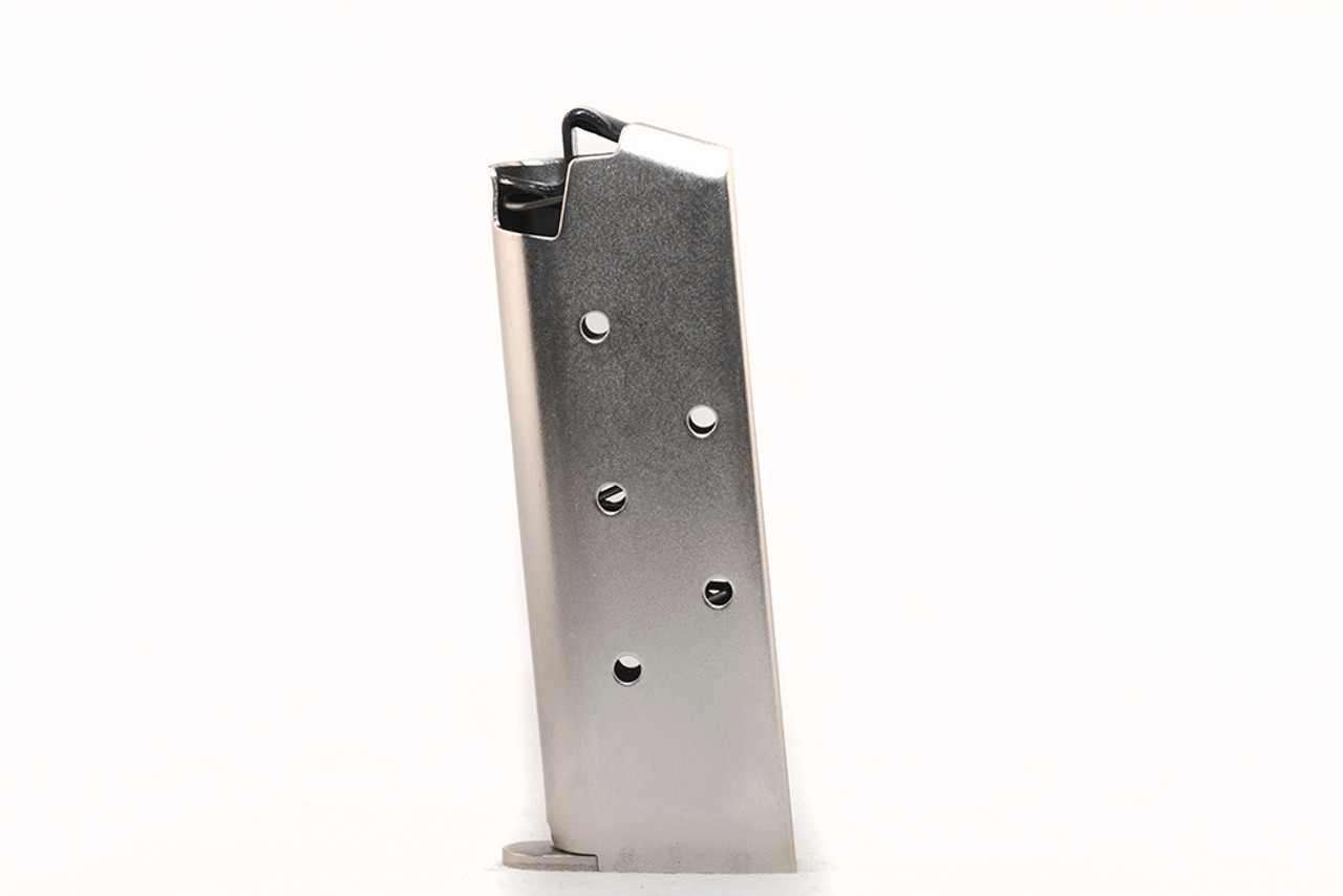 Colt® Mustang® & Pocketlite .380 ACP (6) Rd - Nickel Plated Steel