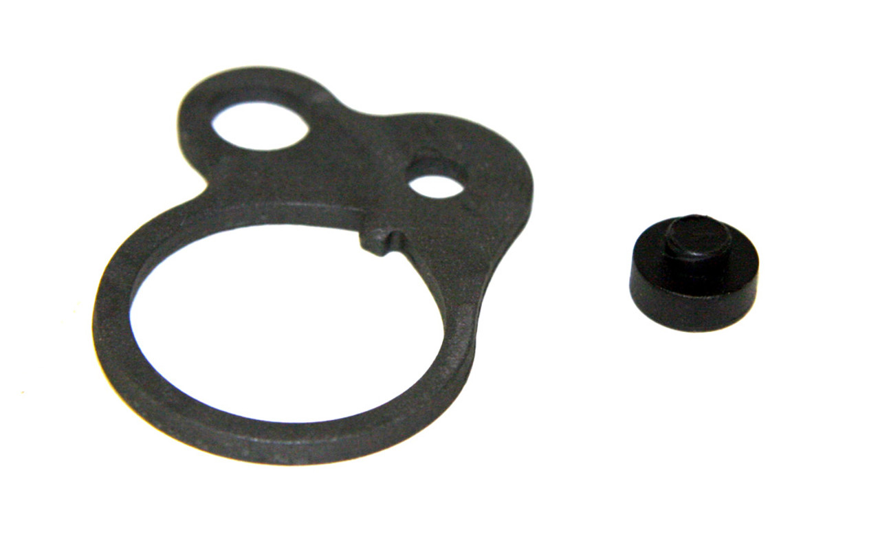 Single Point Loop Sling Attachment Plate - Steel