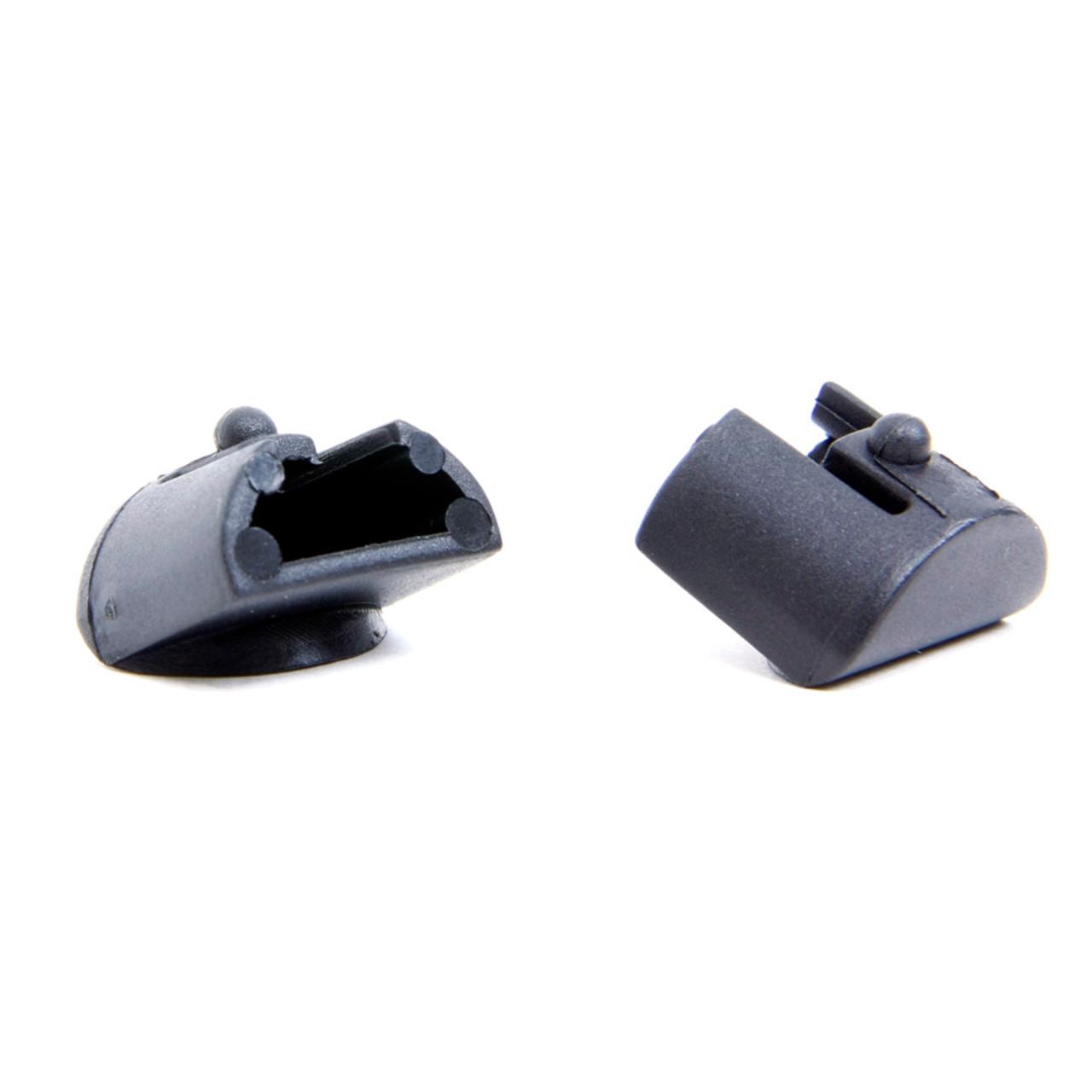 Fits the Glock® 17, 19, 22, 23 Grip Plug (2 Pack) - Black Polymer