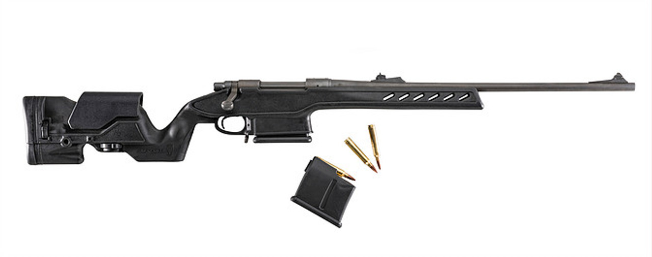 Archangel® 700 Precision Elite Stock for the Remington® Model 700® Long Action Standard Caliber - Black Polymer includes AASLA5 (7) Rd with a (5) Rd Limiter TYPE C Magazine