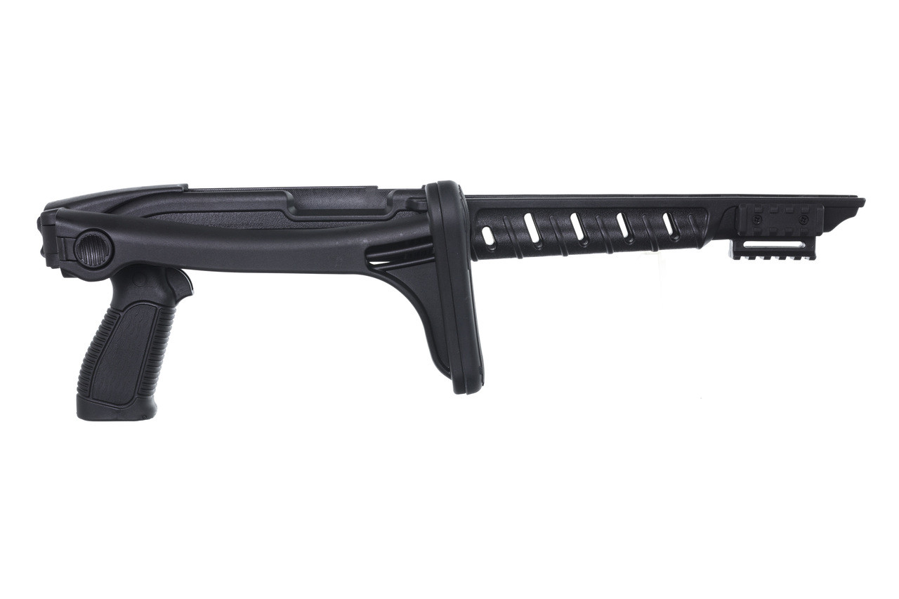 Mossberg® 702 Plinkster™ Tactical Folding Stock - Black Polymer