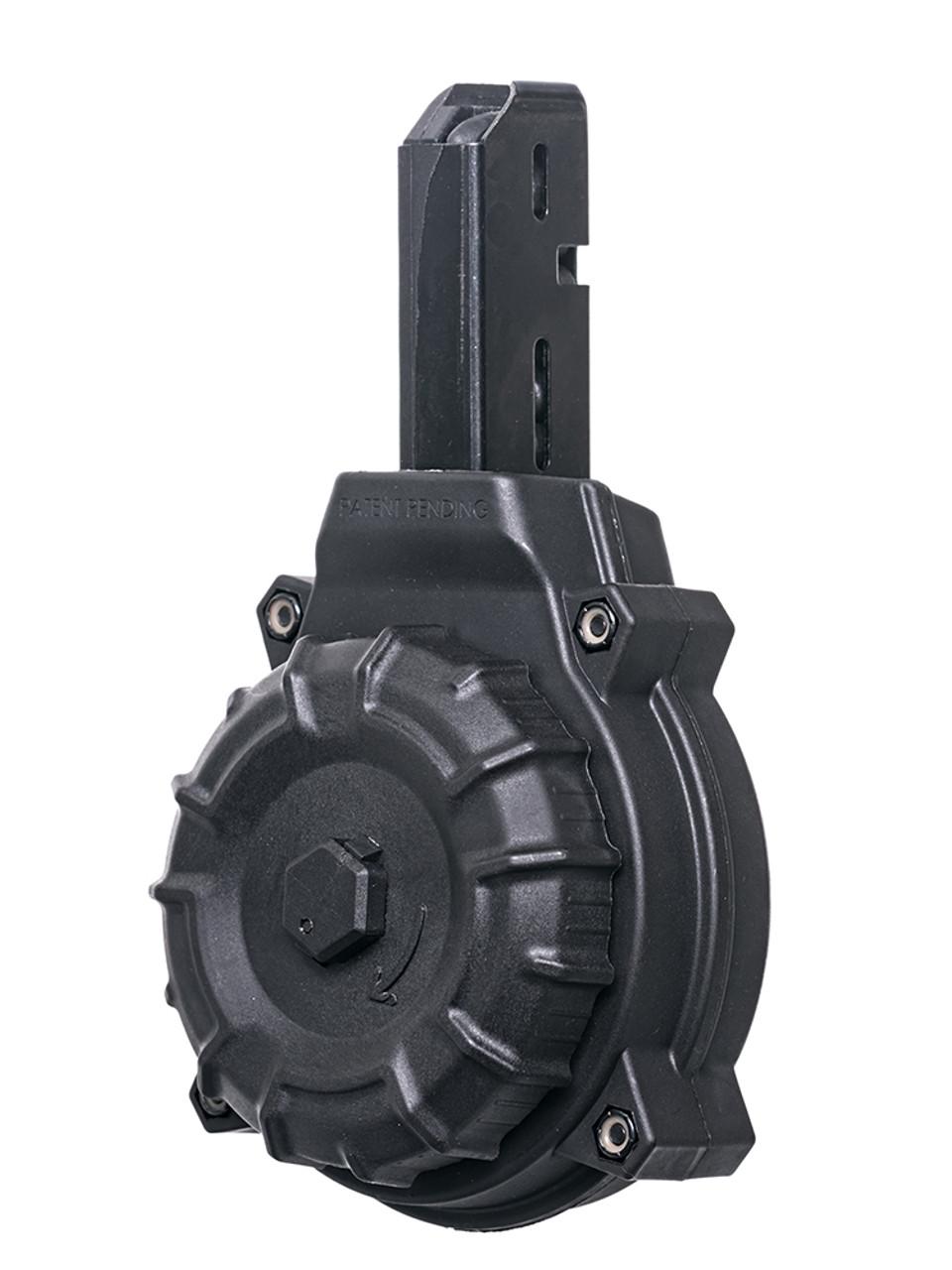 AR-15® 9mm Colt® / SMG Type (50) Rd - Black Polymer Drum