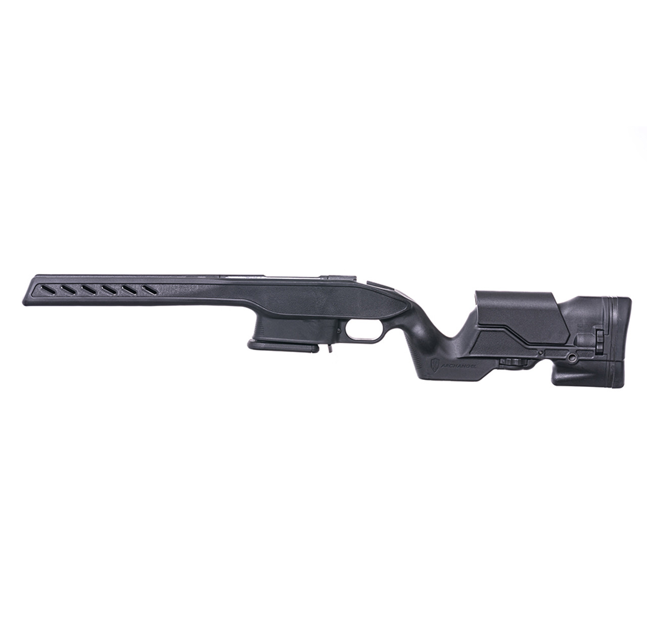 Archangel® Precision Elite Stock for the Savage® Model 10 / 11 Short Action - Black Polymer Includes AA133-05 (7) Rd with (5) Rd Limiter TYPE D Magazine