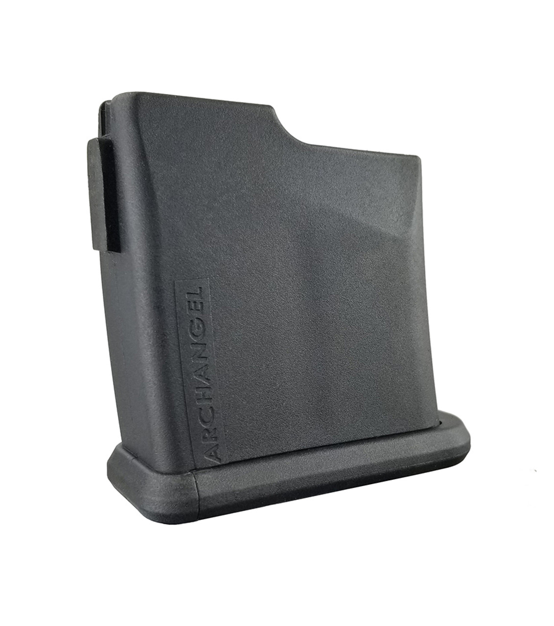 Archangel® Short Action .308 Based Cartridges TYPE D Magazine for Precision Elite Stocks (7) Rd with (5) Rd Limiter - Black Polymer