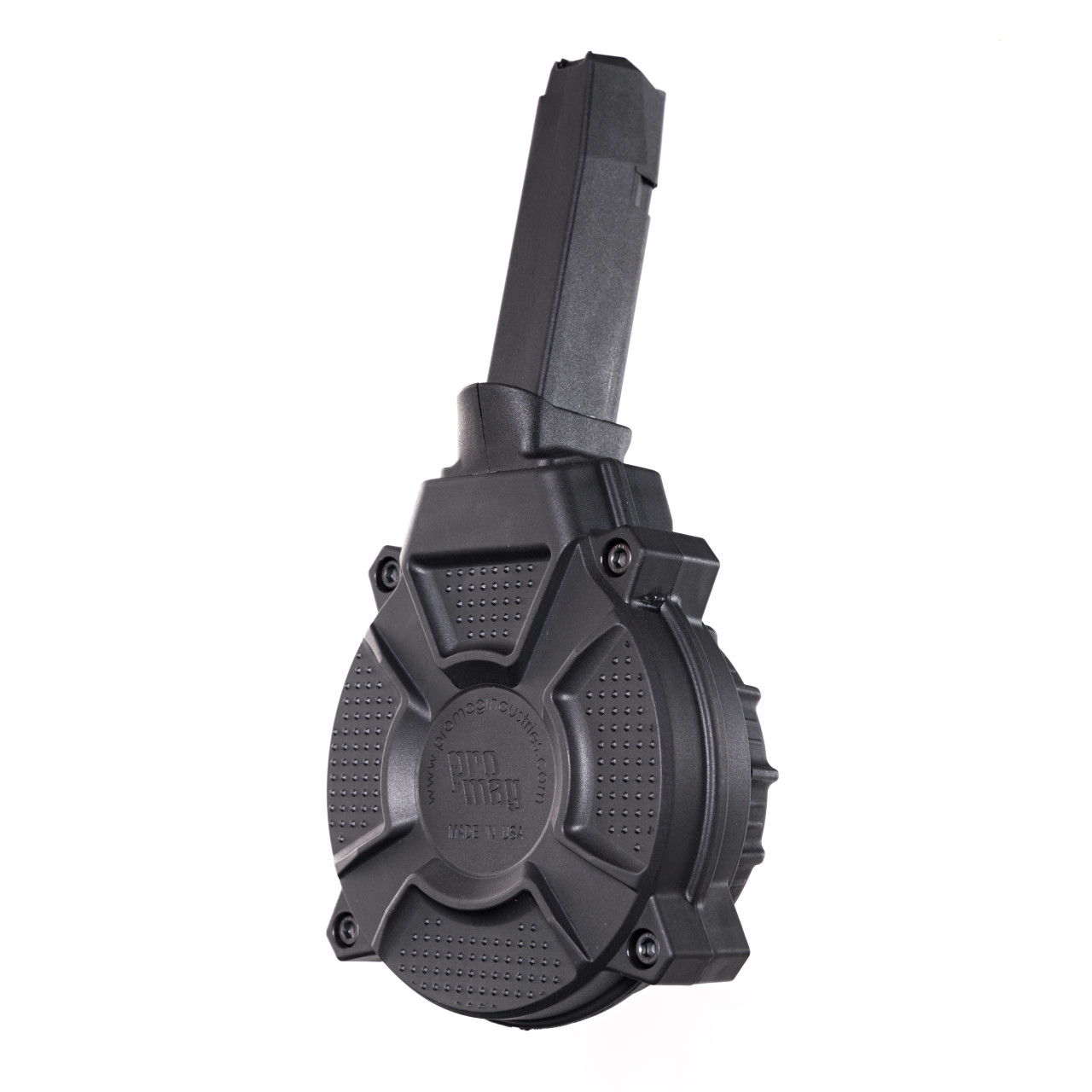 Fits the Glock® Model 48 / 43X 9mm (50) Rd - Black Polymer Drum