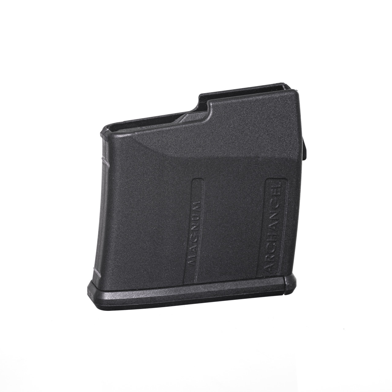 Archangel® Magnum Caliber (300 Win / 7MM Rem Magnum) TYPE B Magazine for AAT3 and AA98 Stocks (7) Rd with (5) Rd Limiter - Black Polymer