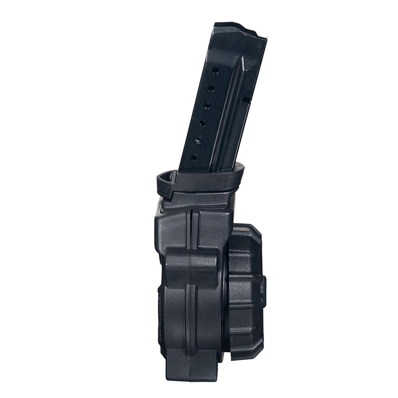 Fits the Glock® Model 17 & 19 9mm (30) Rd - Black Polymer Drum