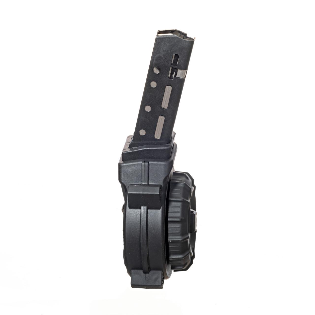 Fits Glock®  Model 21 / 30  .45 ACP (40) Rd Drum - Black Polymer