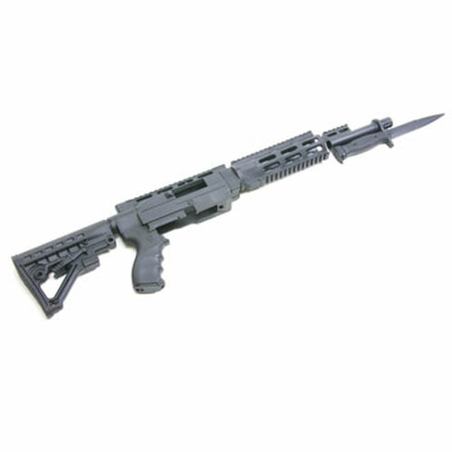 Archangel® 556 Conversion Stock for the Ruger® 10/22® No Bayonet - Black Polymer