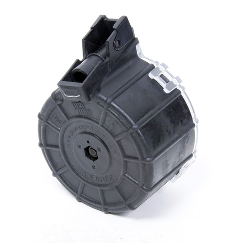 Saiga® 12 Gauge (12) Rd - Black Polymer Drum