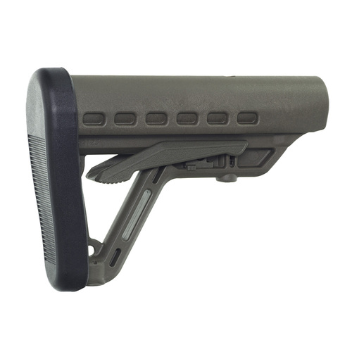 Archangel® Low-Profile AR-15® Buttstock with Commercial Tube - Olive Drab Polymer