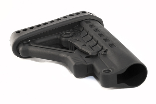 Archangel® Heavy Duty AR-15® / AR-10 Buttstock (Commercial Tube) - Black Polymer