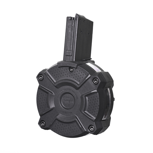 AR-15® 5.56mm / .223 (65) Rd with Window - Black Polymer Drum