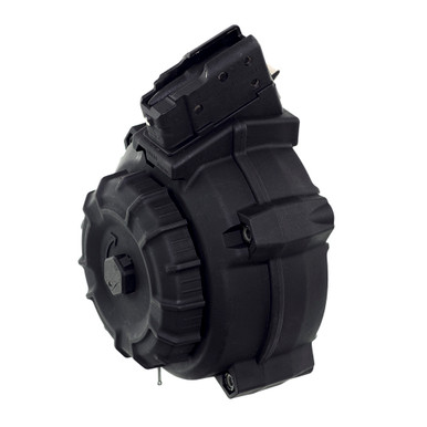 AK-47® 7.62x39mm (50) Rd - Black Polymer Drum - ProMag Industries