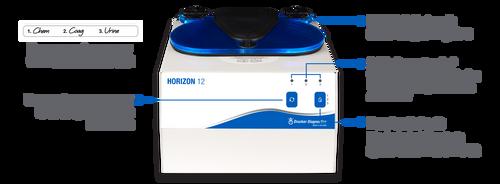 Drucker Horizon 12 Centrifuge