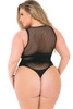 X-RATED SEAMLESS BODYSUIT PLUS SIZE