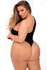 OFF THE WALL SEAMLESS BODYSUIT BLACK