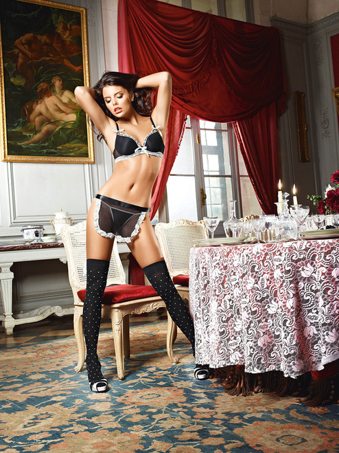 Baci Dirty Girl French Maid Set