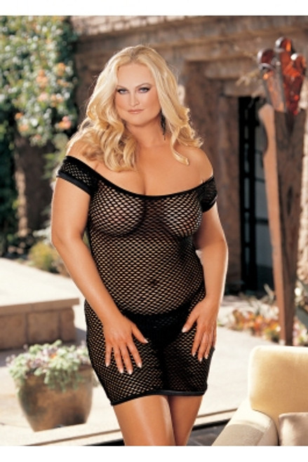 BIG HOLE STRETCH FISHNET