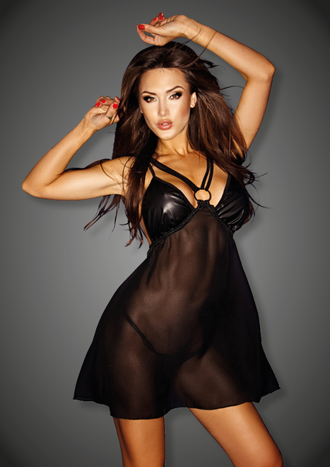 Chiffon Babydoll with Wetlook cups