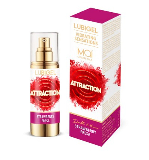 STIMULATING LUBRICANT MAI VIBRATING SENSATIONS STRAWBERRY 30 ML