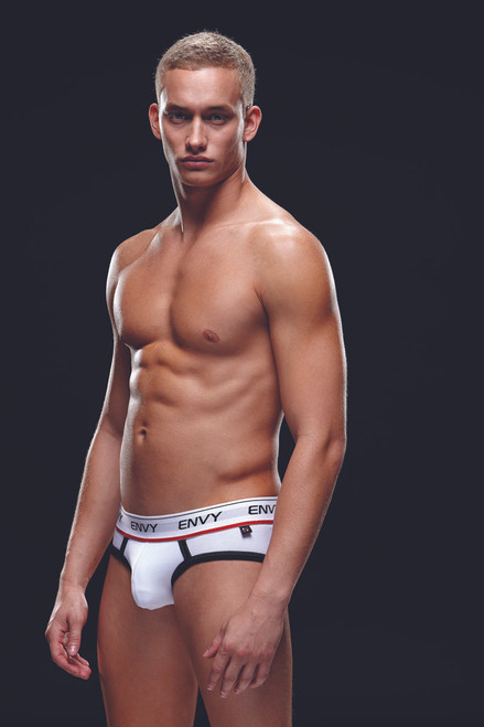Logo Elastic, Low-Rise Brief