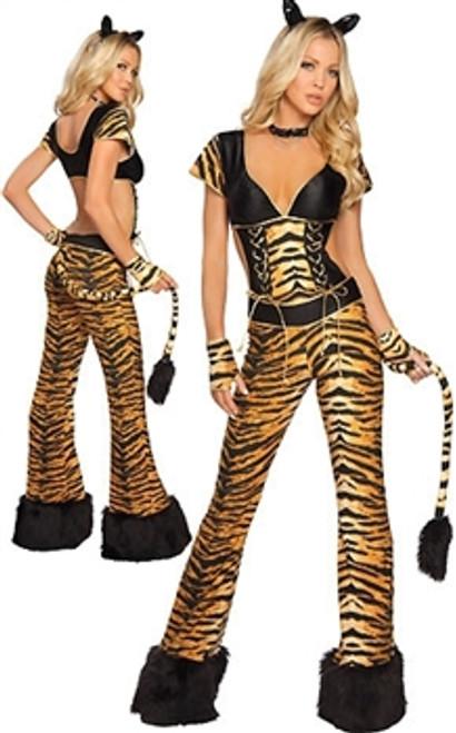 Naughty leopard costume