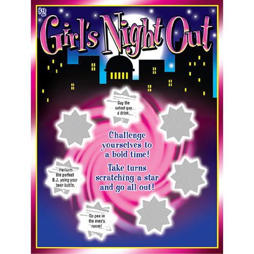 Girls Night Out Scratch Card
