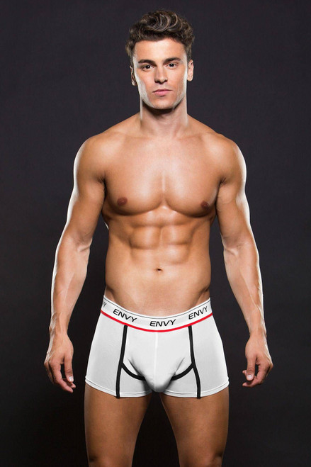 Logo Elastic Low Rise Mesh Trunk