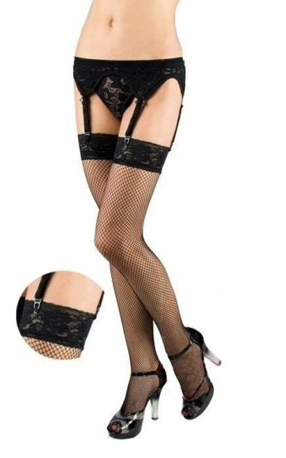 Black Fishnet  5516