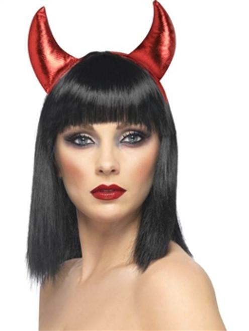 Lurex Devil Horns, Red