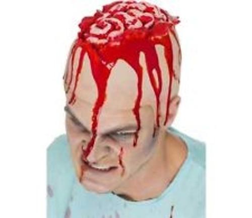 Open Brain Head Cap, Latex