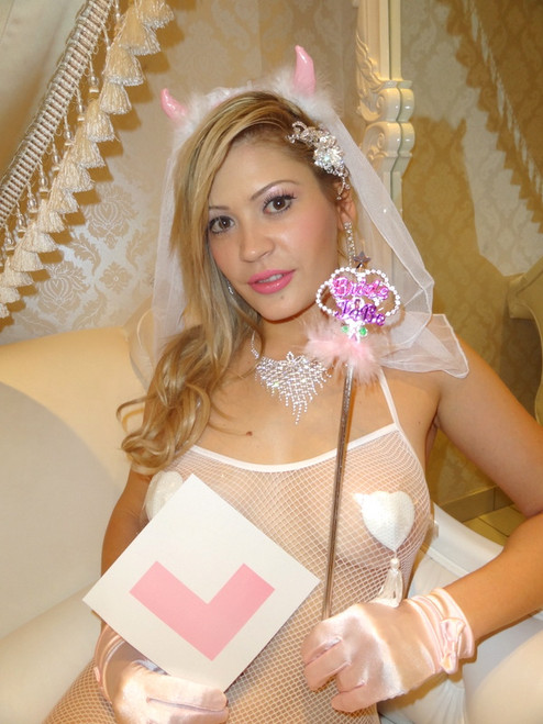 Pink Bride to Be Set (3 Piece)