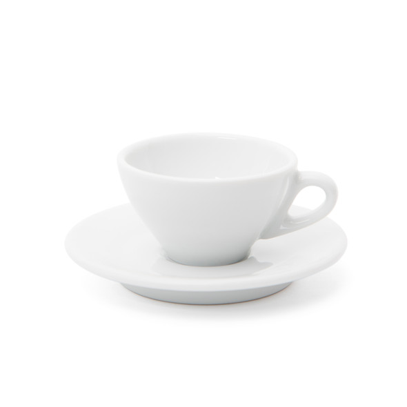 Ancona Espresso Cup and Saucer - 2.7oz - Set of 6