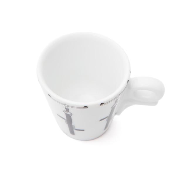 Italia in Bici Edizione Giotto Espresso Cups - 2.4oz - Set of 6
