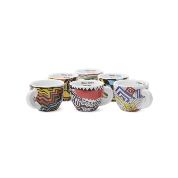 Arlecchino Edizione Edex Espresso Cups - 2oz - Set of 6