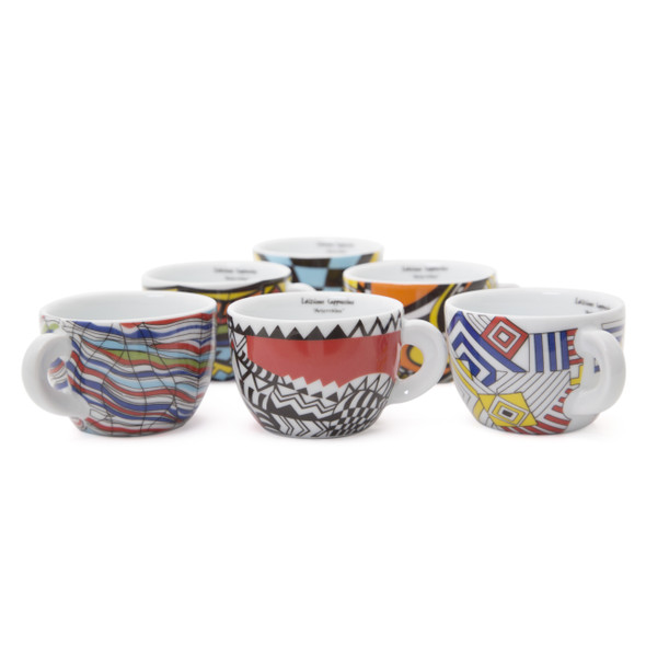 arlecchino edex cappuccino cups 6.4oz collection