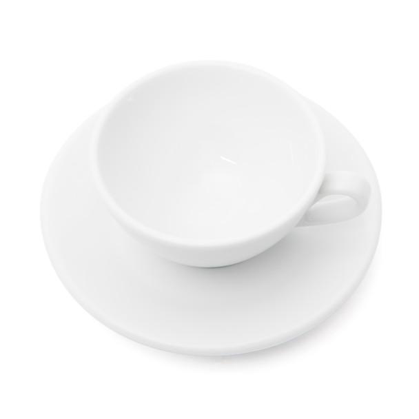 Ancona Single Cappuccino Cup and Saucer - 4.7oz
