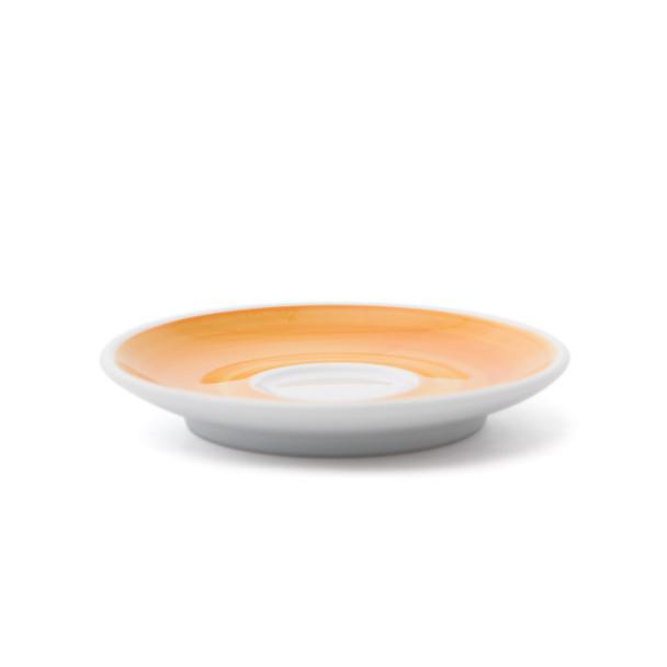 Verona Yellow Hand-Painted Espresso Saucer