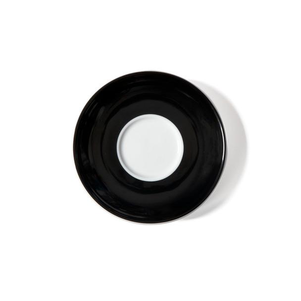 34098- Black-Cappuccino-Saucer