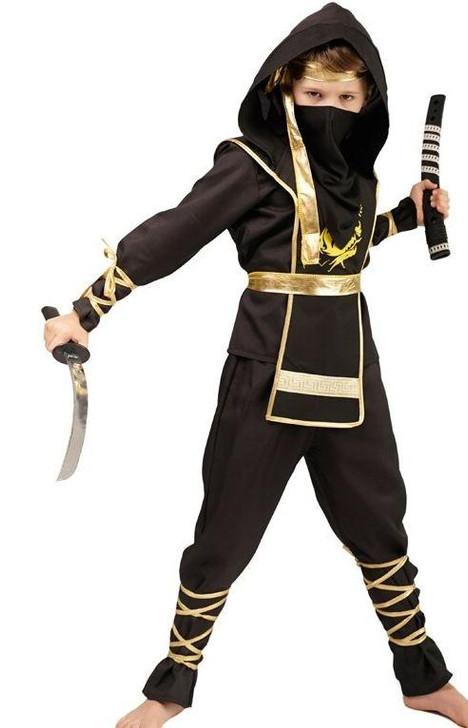 Golden Dragon Ninja Assassin Costume Characters Scorpion Costumes For Unisex